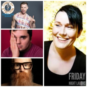 Friday 10th September comedy show Blackpool 2021