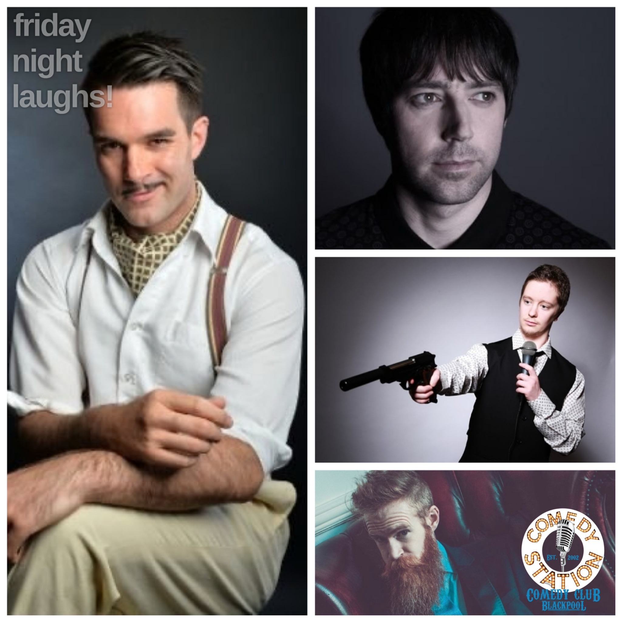 Comedy show Blackpool, Friday 25th June
