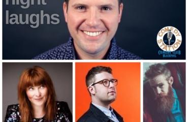 Friday Night Laughs – Steve Shanyaski, Nina Gilligan, Chris Washington & Ryan Gleeson