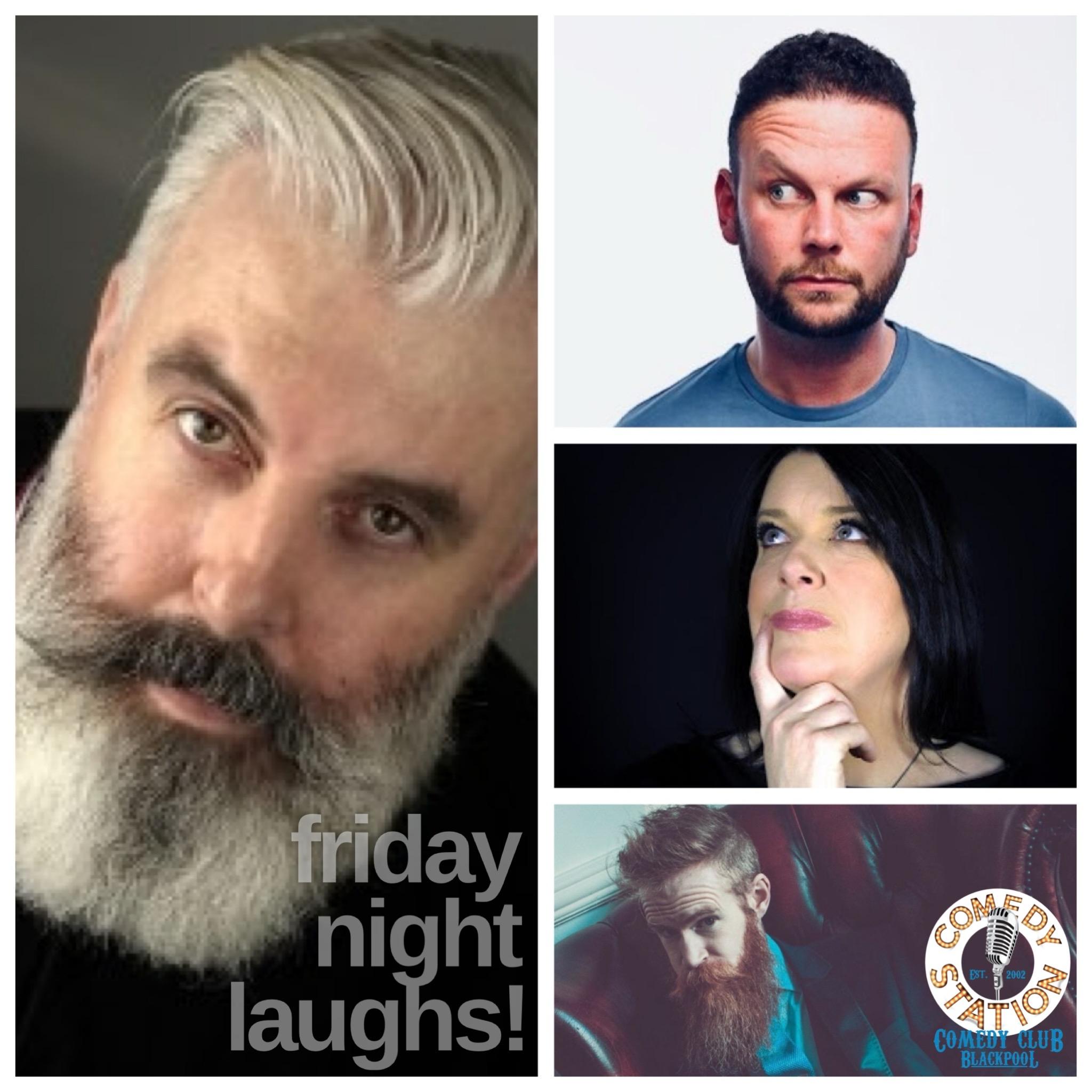 Friday comedy Blackpool 28th May