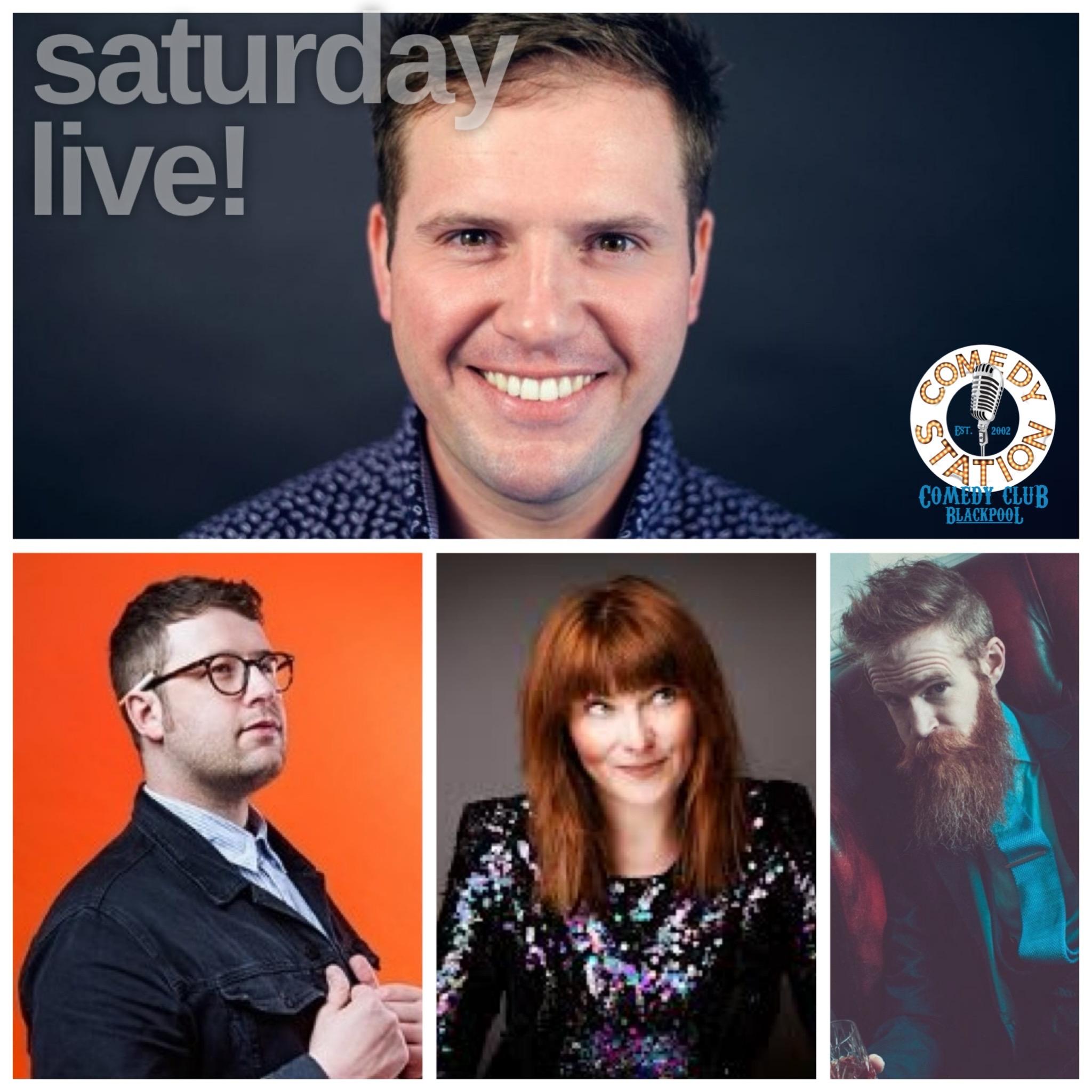 Saturday comedy 22nd May