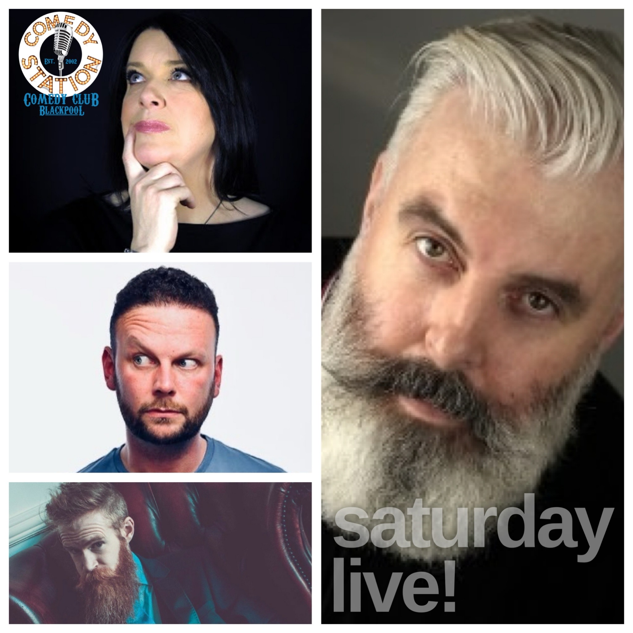 Saturday 29th May comedy show Blackpool