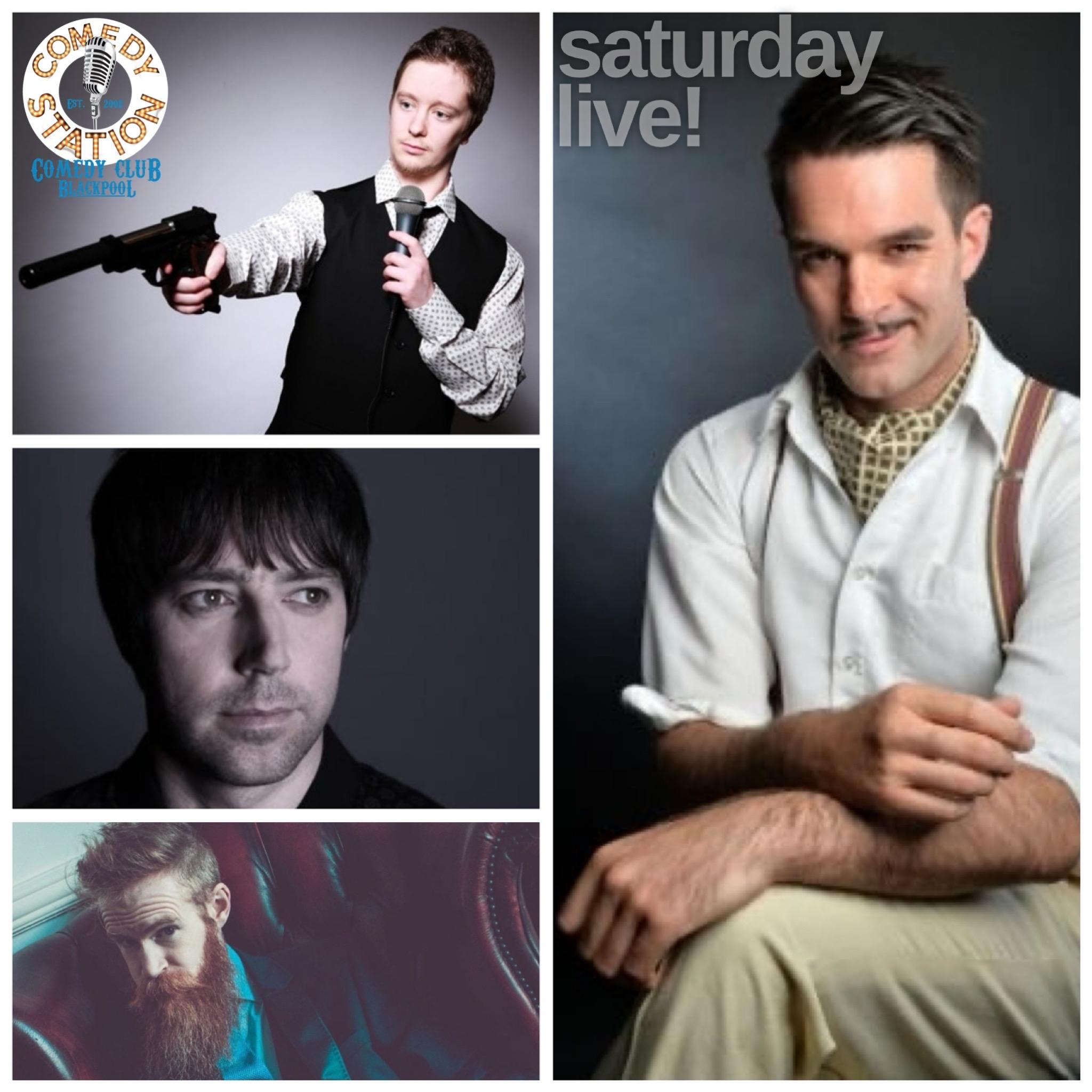 Comedy show Blackpool Saturday 26th June