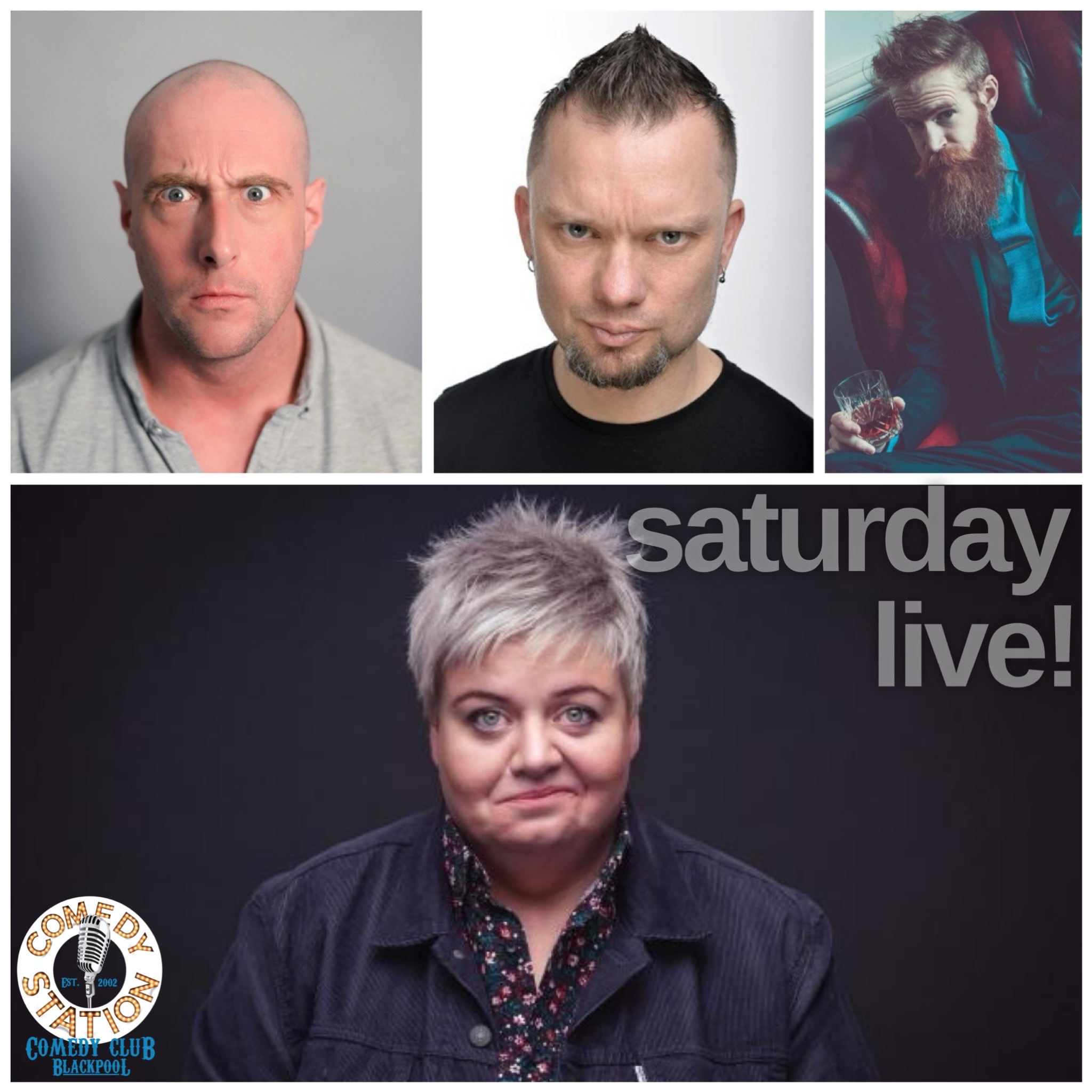 Comedy show Blackpool Saturday 24th July