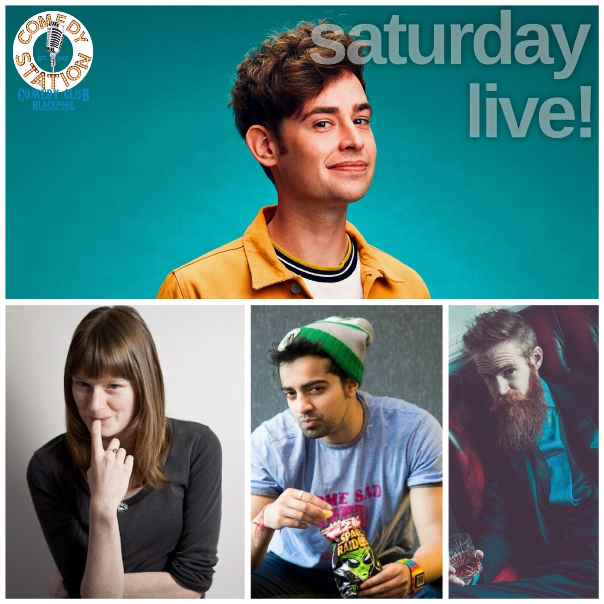 Saturday comedy show Blackpool 5th June