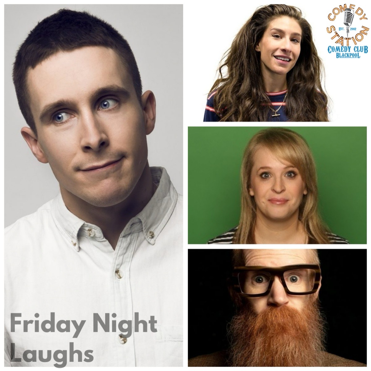 Friday 30th July comedy Blackpool