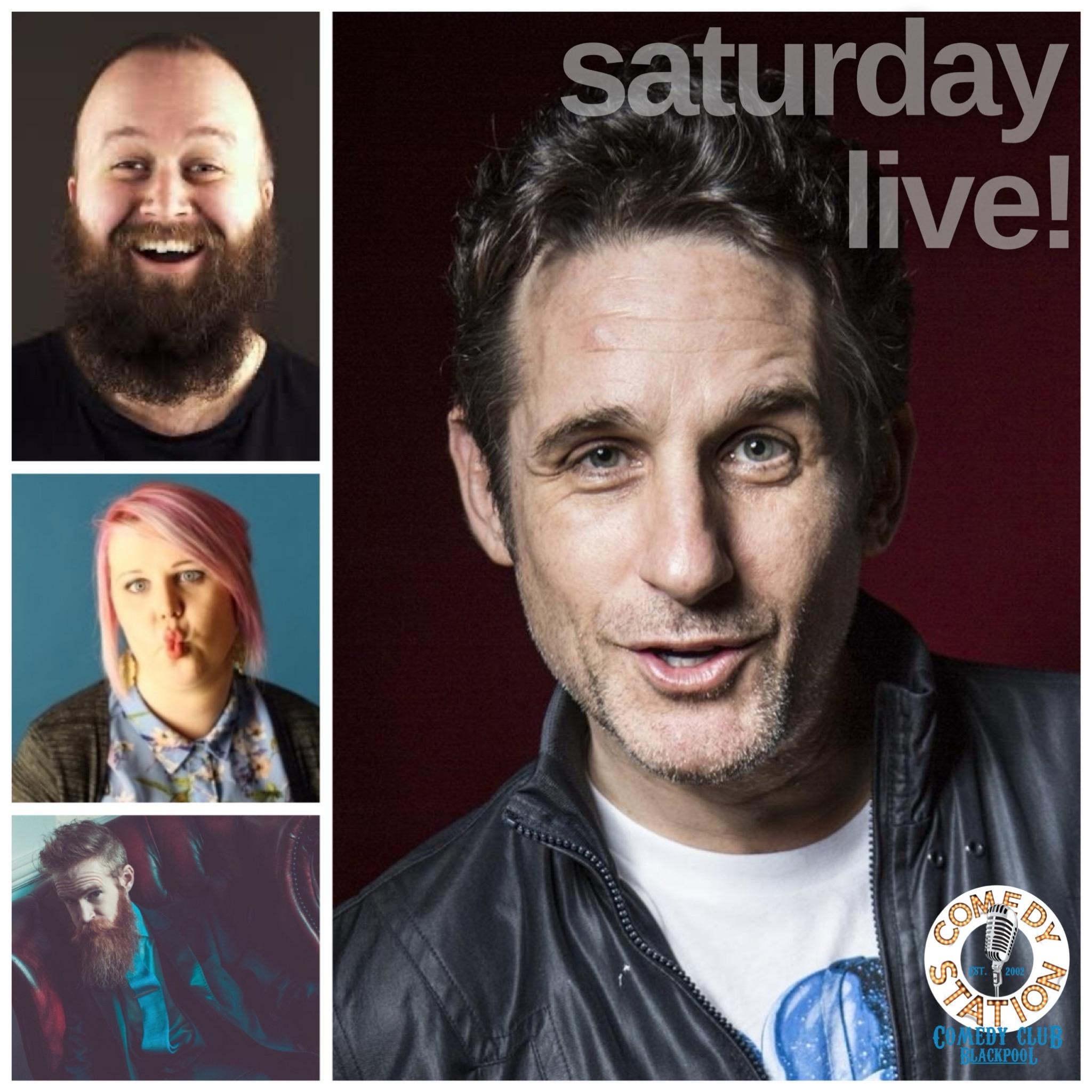 Comedy show Blackpool Saturday 12th June