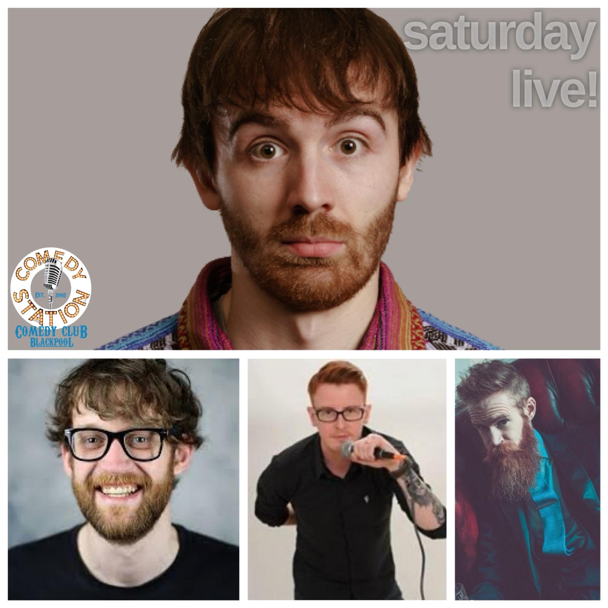 Comedy show Blackpool Saturday 19th June
