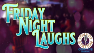 Friday comedy show Blackpool